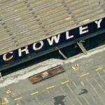 Crowley Maritime Co. barge (Birds Eye)