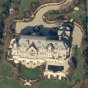 Derek Jeter's House (former) (Birds Eye)