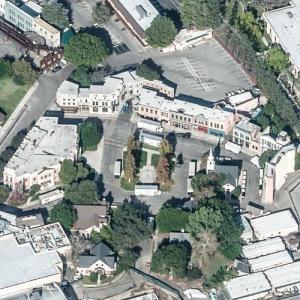 """Midwestern Street"" filming location at Warner Brothers Studios (Bing Maps)"