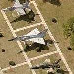 Air National Guard 177th Fighter Group F-16, F-106B & F-100F (Bing Maps)