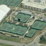 Hilary J. Boone Varsity Tennis Complex (Birds Eye)