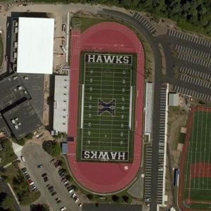 Xaverian Brothers High School football field (Bing Maps)