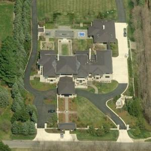 Lebron James' House (Birds Eye)