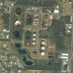 West Indies Oil Refinery (Bing Maps)