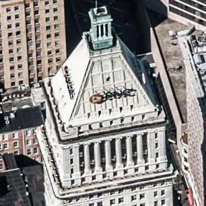 """""""PNC Tower"""" by Cass Gilbert (Birds Eye)"""