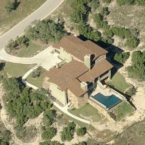 """The Undertaker"" Mark Calaway's house (Birds Eye)"