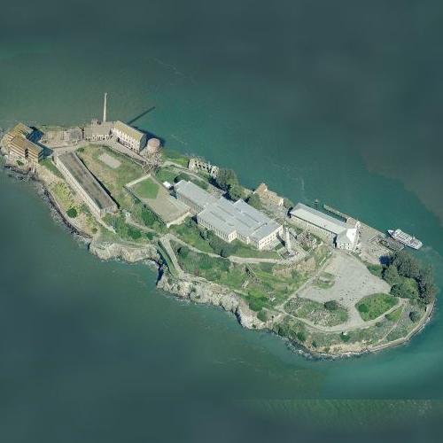 Alcatraz (Birds Eye)