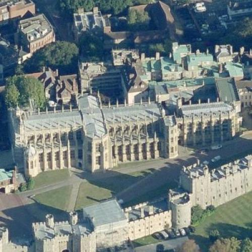 St. George's Chapel, Windsor Castle (Birds Eye)