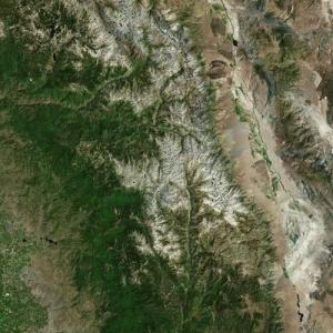 Sequoia National Park (Bing Maps)