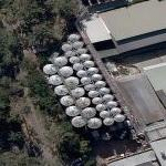 Storage tanks of brewery