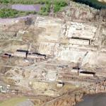 Demolished Roebling Mills (Birds Eye)