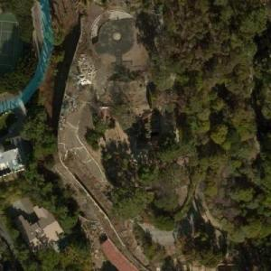 Site of Proposed 85,000 sqft Beverly Hills Mystery Mega-Mansion (Bing Maps)