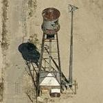 Old Massey Furguson Water Tower (Birds Eye)