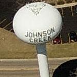 Johnson Creek Water Tower (Birds Eye)