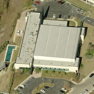 San Antonio Spurs Training Facility (Birds Eye)