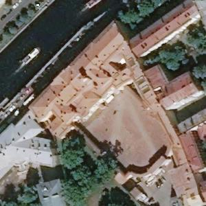Moika Palace - Rasputin's place of death (Bing Maps)