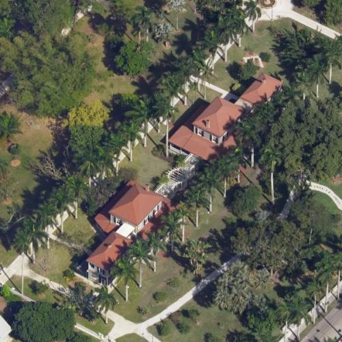 Thomas Edison's House (Birds Eye)