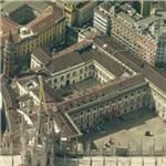 Royal Palace of Milan (Birds Eye)