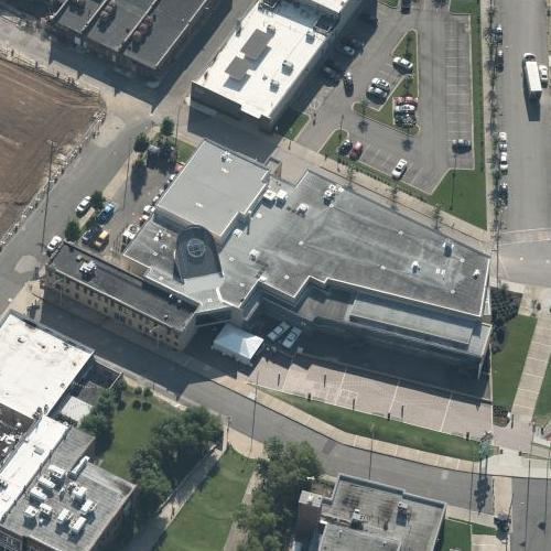 MLK, Jr. assassination site/Lorraine Motel (Birds Eye)