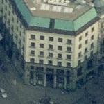 'The House of Michaelerplatz' by Adolf Loos (Birds Eye)
