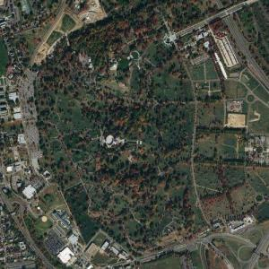 Arlington National Cemetery (Bing Maps)