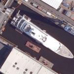"""Superyacht """"Mayan Queen IV"""" (Bing Maps)"""