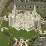 LDS Temple - San Diego (Birds Eye)
