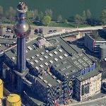 'District Heating Plant' by Friedensreich Hundertwasser (Birds Eye)