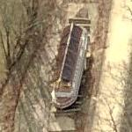 Chesapeake and Ohio Canal Boat - The Canal Clipper (Birds Eye)