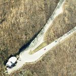 Mohawk Trail Hairpin Turn (Birds Eye)