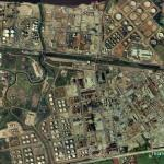 Stanlow oil refinery (Bing Maps)