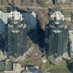 Concourse Corporate Center V and VI (tallest suburban buildings in the U.S.) (Birds Eye)