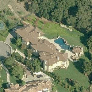 Britney Spears' House (Birds Eye)