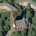 St. Gertrud's church (Birds Eye)