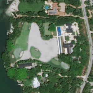 Tiger Woods' House (Bing Maps)