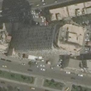 Damascus Tower (tallest building in Syria) (Bing Maps)