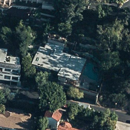 Kevin Bacon and Kyra Sedgwick's house (Birds Eye)