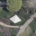 Sol LeWitt's Four-sided Pyramid (Birds Eye)