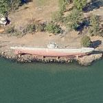 Submarine Vesikko (Bing Maps)
