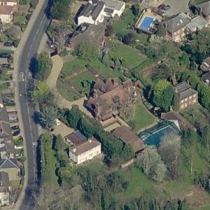 Brad Pitt and Angelina Jolie's House (Birds Eye)