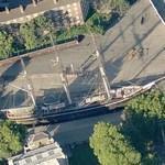 Cutty Sark, the world's last tea clipper (Bing Maps)