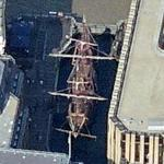 Replica of the Sir Francis Drake's Golden Hind