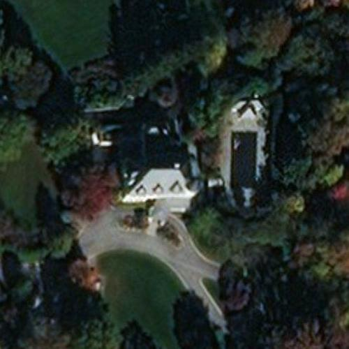 Number One Observatory Circle (Vice President's House) (Birds Eye)