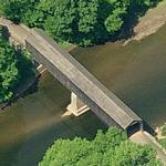 Twining Ford Covered Bridge (Birds Eye)
