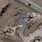 McDonnell GF-101B Voodoo and Bell UH-1 Huey (Birds Eye)