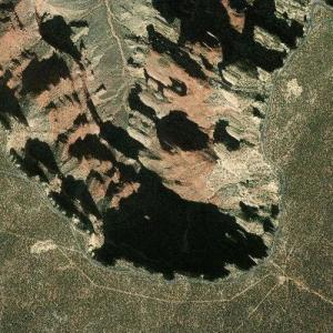 Grand Canyon - Rim Road (Bing Maps)