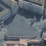 Piazza e Palazzo del Quirinale (Bing Maps)