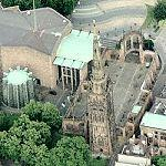 Coventry Cathedrals (old and new) (Bing Maps)