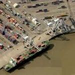 Port of Savannah (Garden City Terminal) (Birds Eye)
