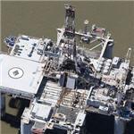 Offshore platform 'Ocean Prospector' (Birds Eye)